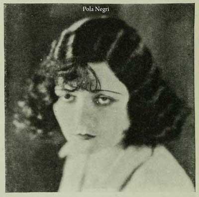 1920's bob --Pola-Negri