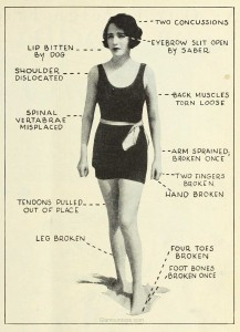 Bebe-Daniels---1920s-actress-beats-footballers-to-injuries.