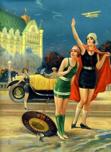 late 1920s pin up illustration by Charles Relyea