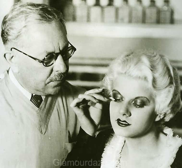 1930s Makeup The Jean Harlow Look Glamour Daze