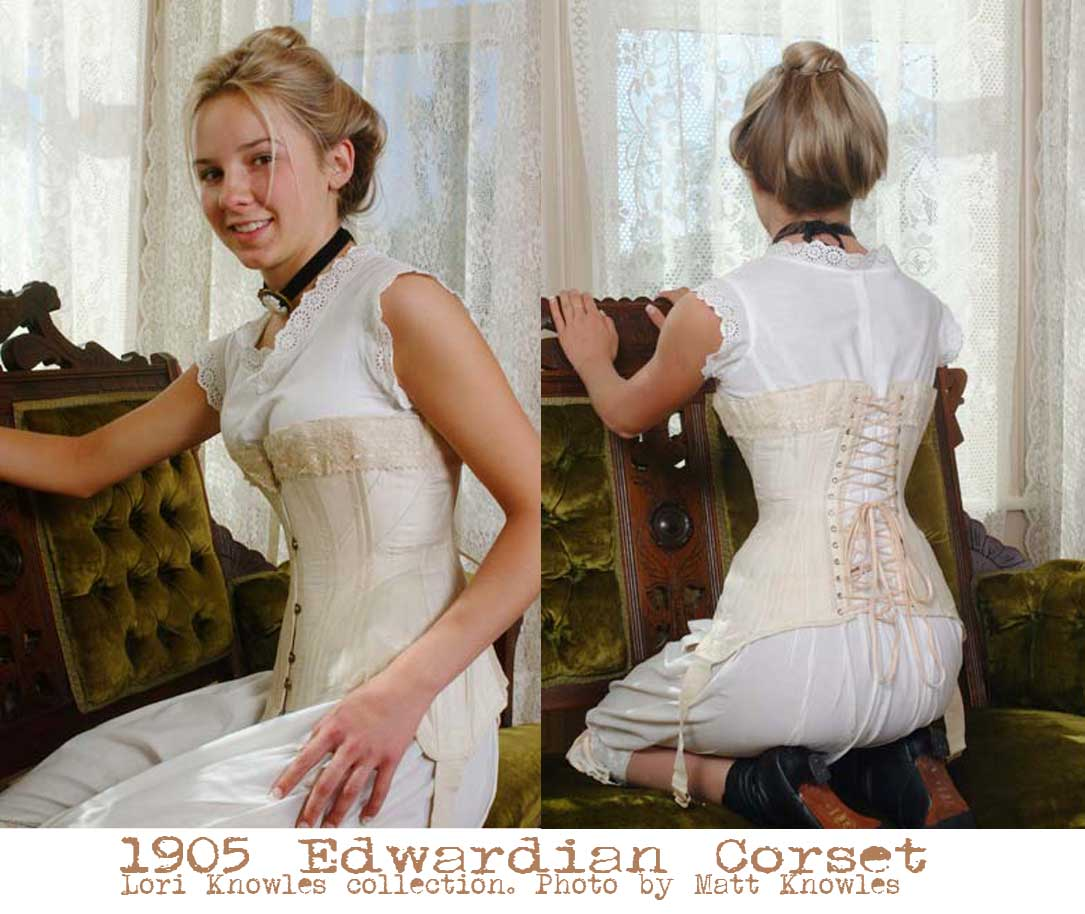 cefa302c7 1905-Edwardian-Corset---photo-by-Knowlesville-Vintage