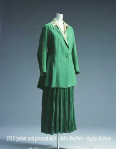 1915-jacket-and-pleated-skirt---John-Redfern---Kyoto-Archive
