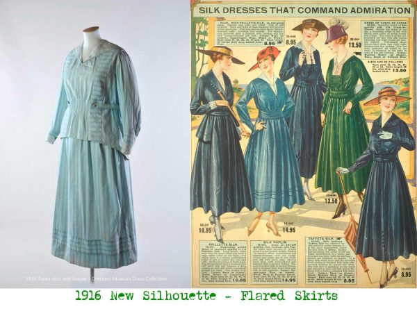 1916-flared-skirt-and-blouse---Chertsey-Museum-Dress-Collection