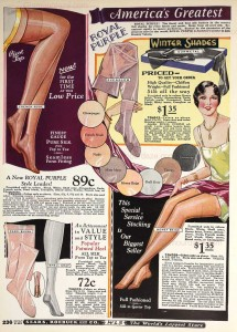 1920s-fashion---hosiery--stockings---Sears-Winter