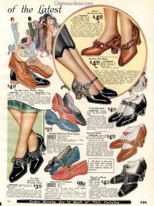 1920s-shoe-styles---Sears-1925