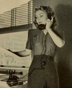 1940-Autumn-wardrobe---career suit - skirt and blouse