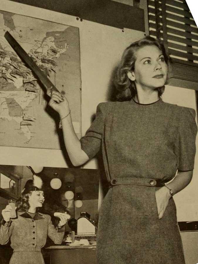 Fashion in 1940