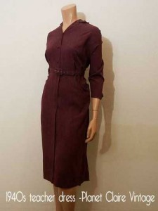 1940s-teacher-dress--Planet-Claire-Vintage