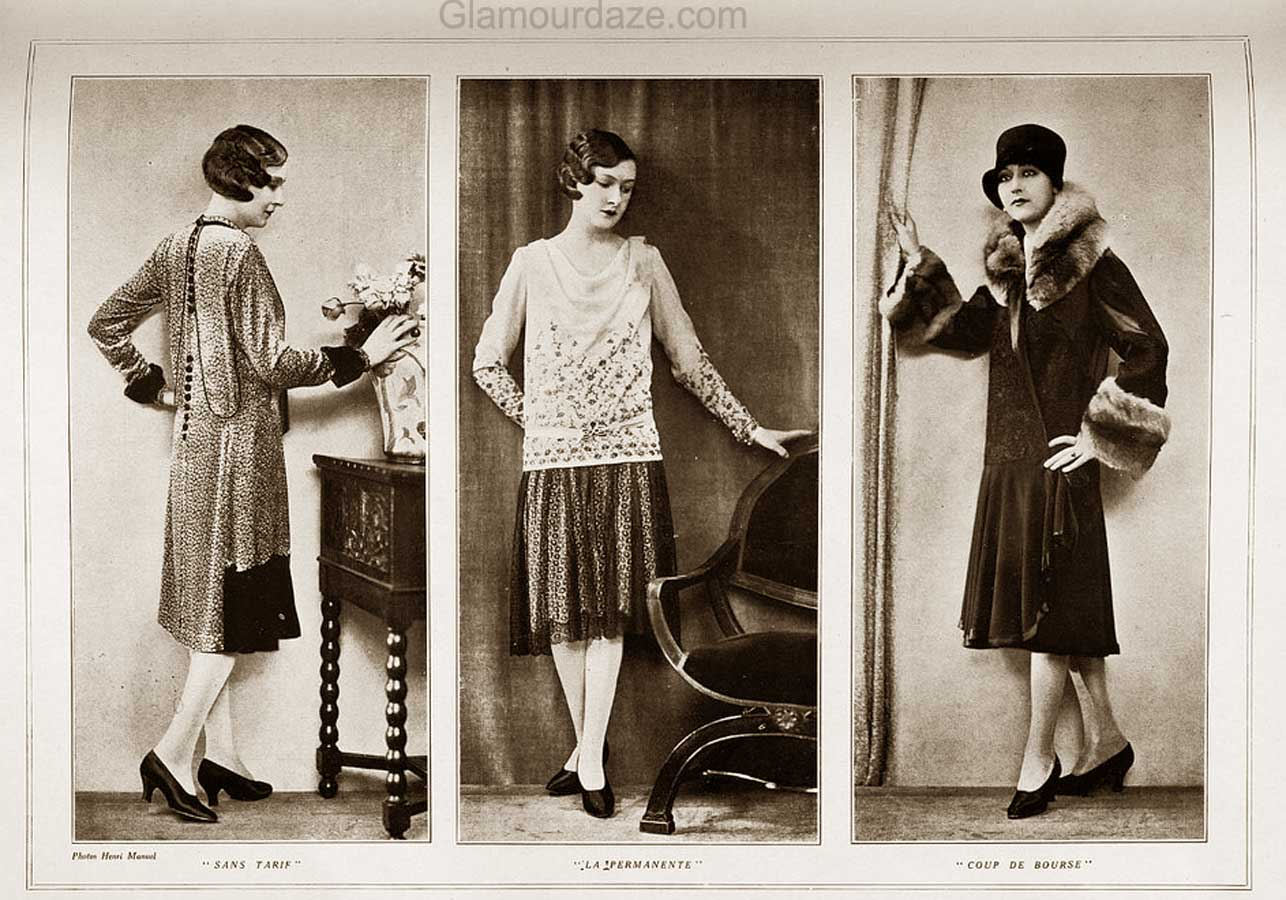 1920s Fashion Autumn Wardrobe And Beauty Makeover 1928