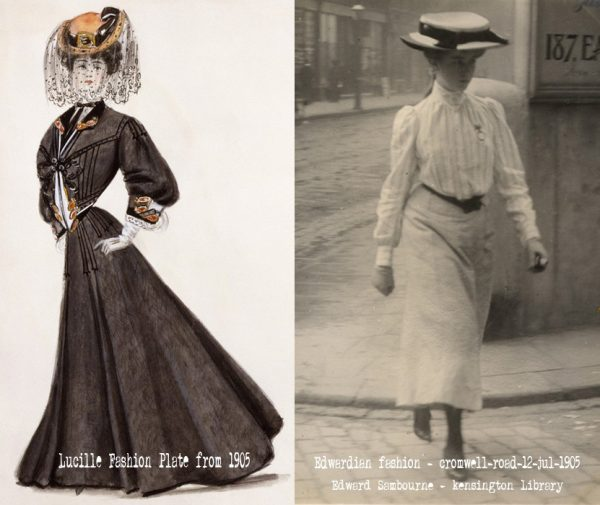Edwardian-Silhouettes---myth-vs-reality