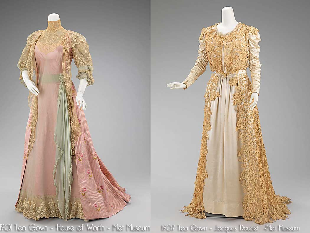 Edwardian Era Evening Dresses