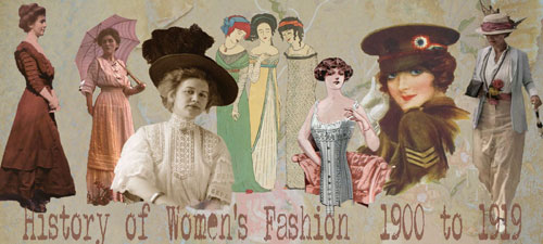 women's fashion from 1900 to 1919