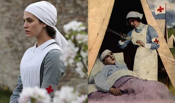 Lady-Sybil-Crawley---Downton-abbey--First-World-war-Nurse