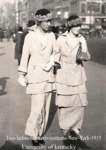 Two-ladies-in-street--costume-New-York-1915