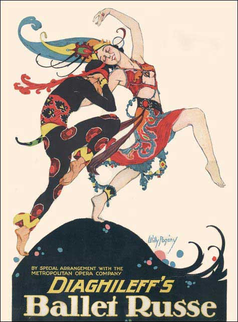 ballet-russes-poster--Diaghilev--Bakst