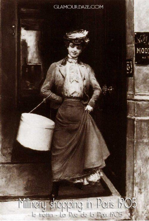 le-trottin---La-Rue-de-la-Paix-1905