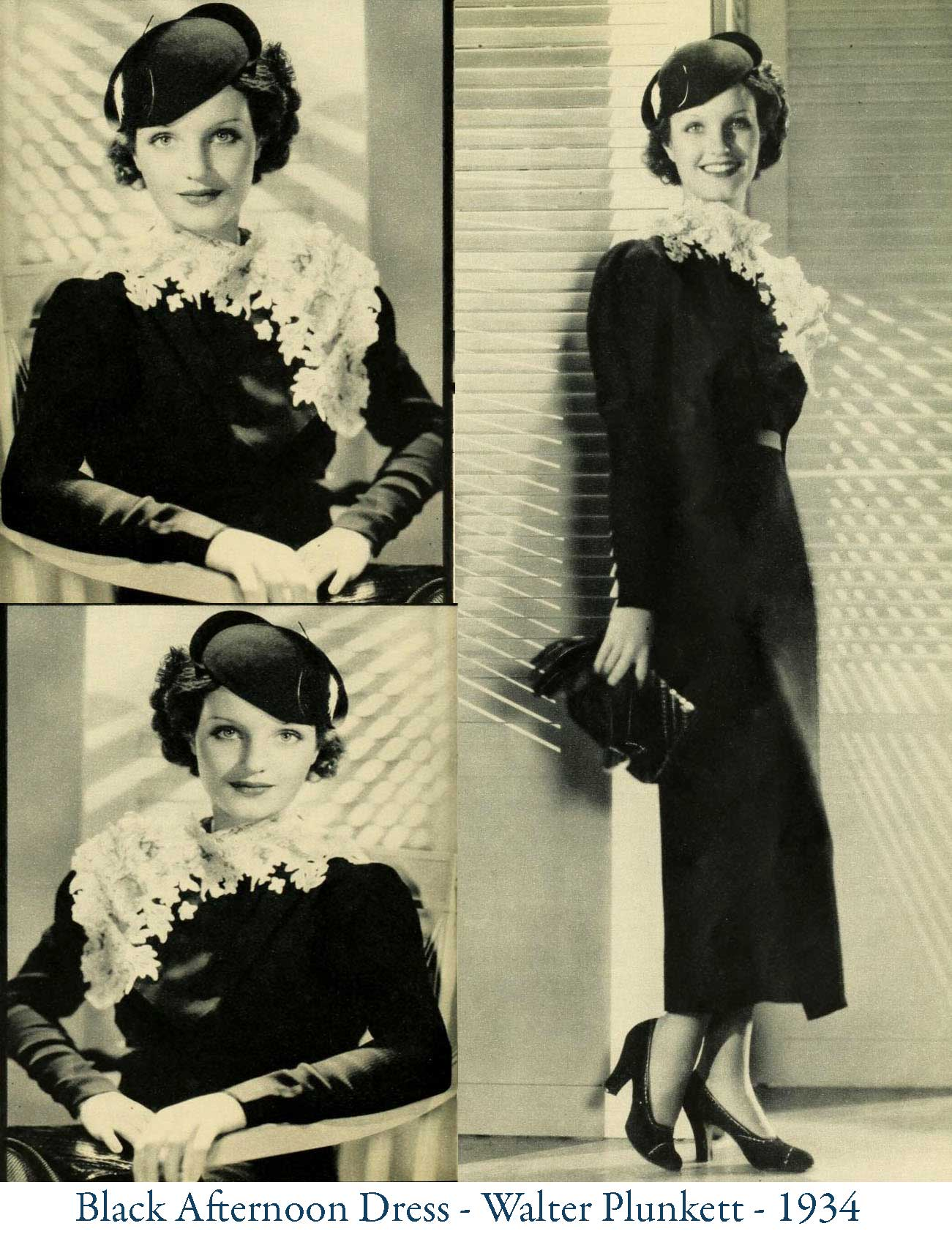 1930s Fashion - Gorgeous Autumn Styles For 1934