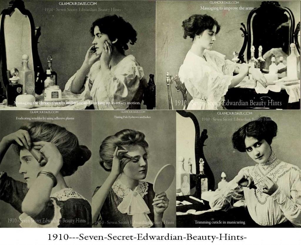 1910---Seven-Secret-Edwardian-Beauty-Hints-