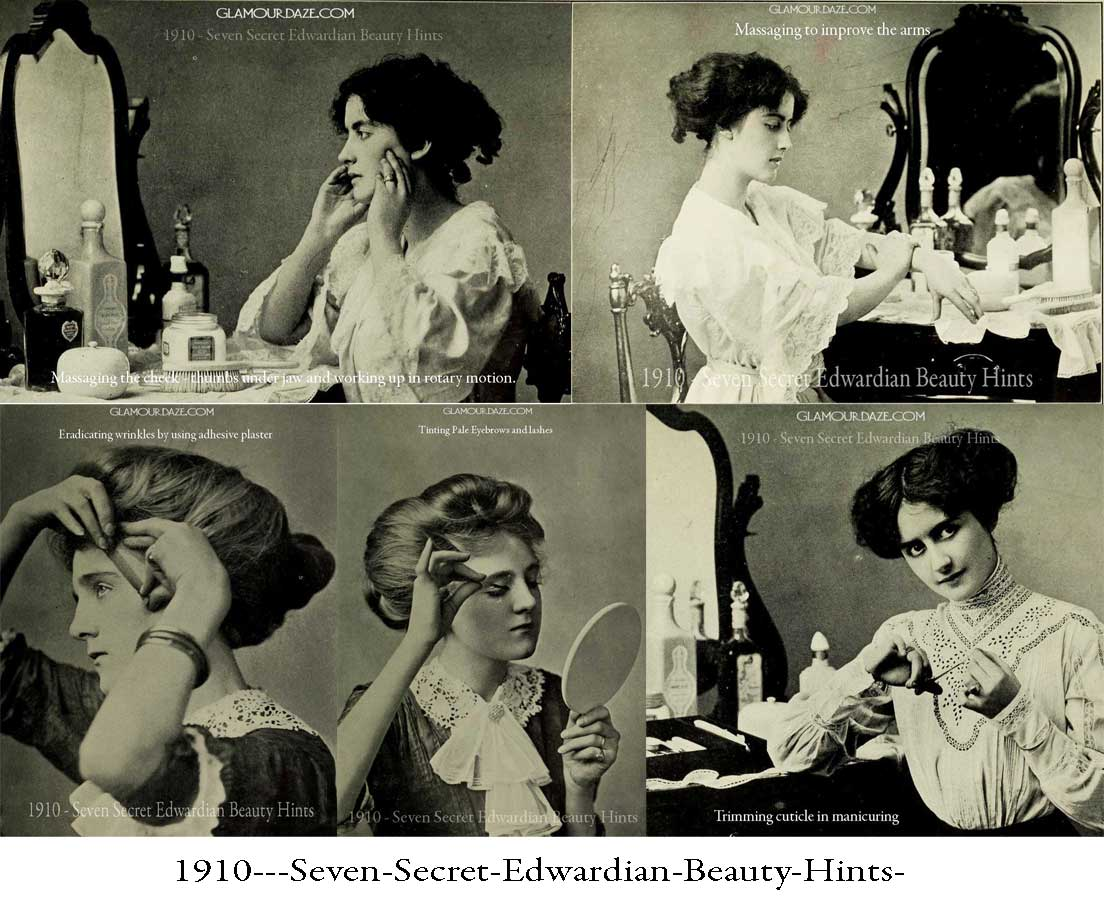 1910---Seven-Secret-Edwardian-Beauty-Hints-