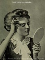 1910---Seven-Secret-Edwardian-Beauty-Hints---eyebrow-tinting