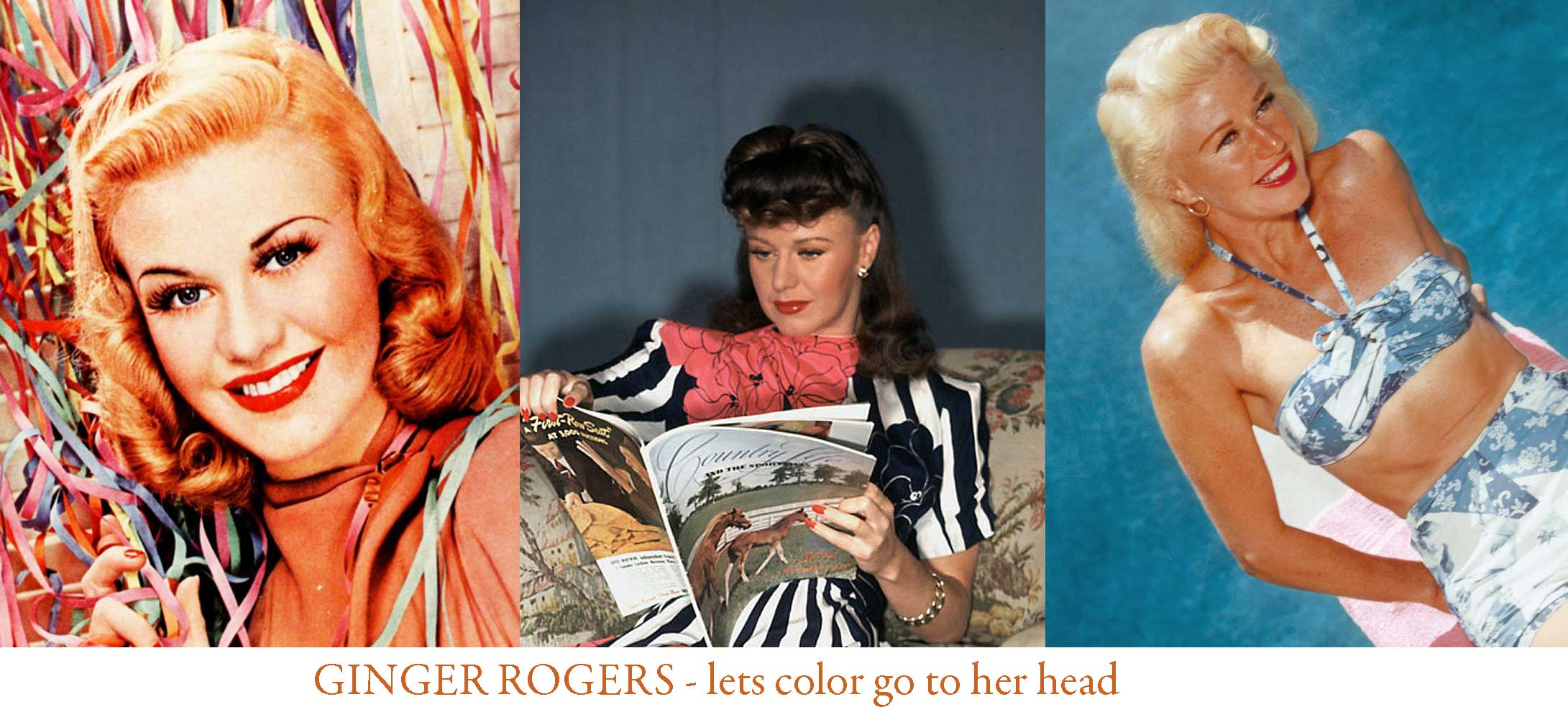 1940s Hairstyles Change Your Color And Become A Star Glamourdaze
