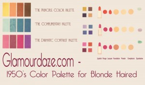 Glamourdaze-1950s-color-palette--blondes