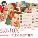 The 1950's Fashion Look –  according to Helena Rubinstein