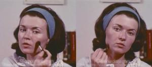 Vintage-1960's-Makeup-Tutorial-Film8---blush---contouring
