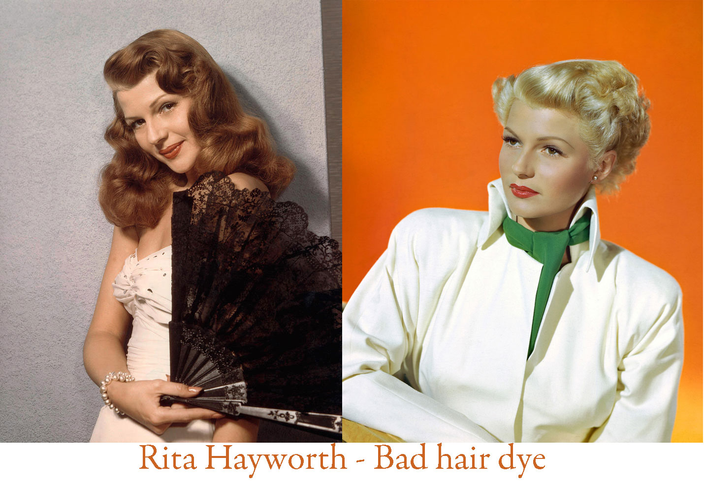 1940s Hairstyles Change Your Color And Become A Star Glamour Daze