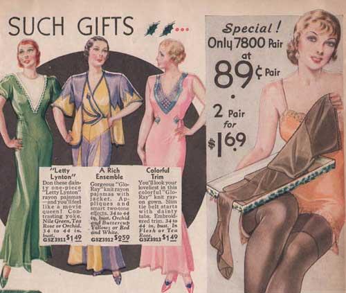 1930s-lingerie-&-hosiery---Sears