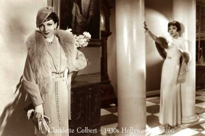 Claudette-Colbert-1930s-fashion---day-and-evening-wear