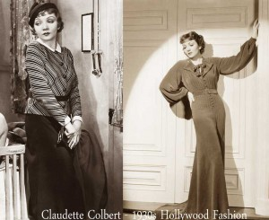 Claudette-Colbert-1930s-fashion---day-and-evening-wear2