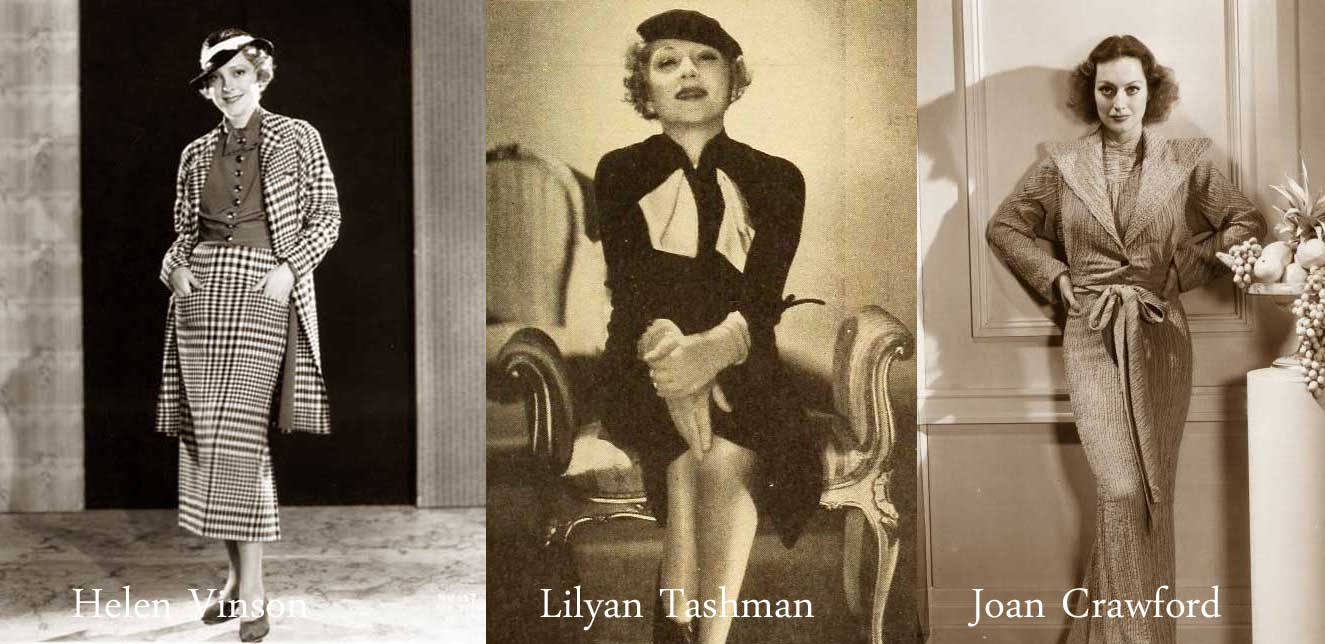 Fashion from 1930s for women 16