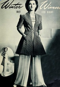 1-1940s-Fashion-Report---Winter-Styles-for-Christmas-1941--Pajama-suit