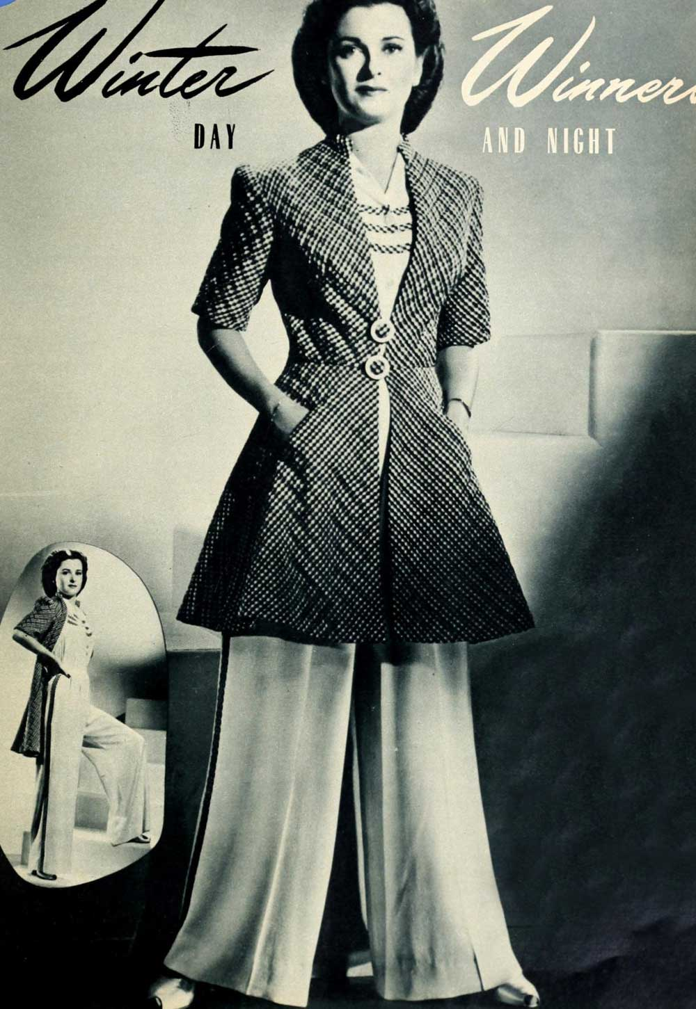 1940s Fashion Report Winter Styles For Christmas 1941