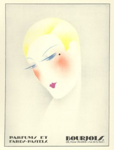 1920s Bourjois makeup - french cosmetis brand