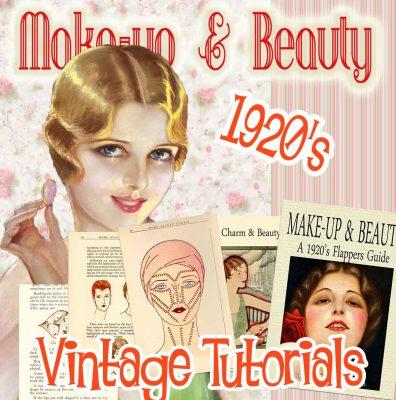 1920s makeup tutorial book