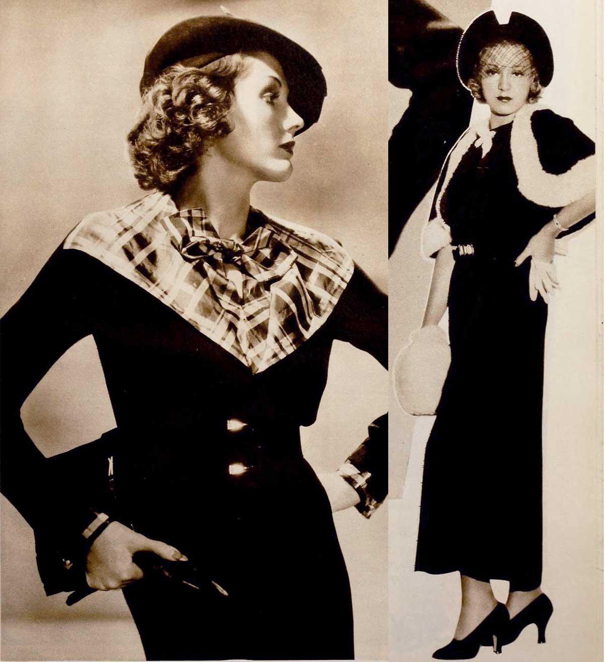 1930s Fashion Hollywood Styles For Christmas 1935 Glamourdaze