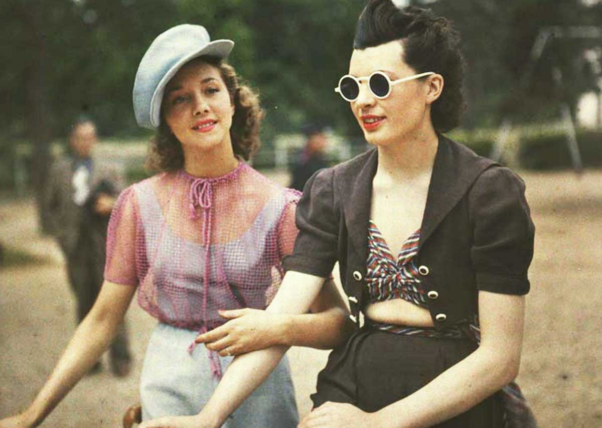 Rare Color Photos From 1930s to 1940s