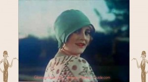 Vintage Fashion film in color from 1928