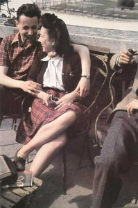 Paris-couple--WWII--Occupied-Paris---Andre-Zucca