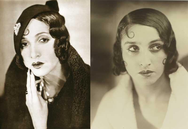 20s fashion makeup