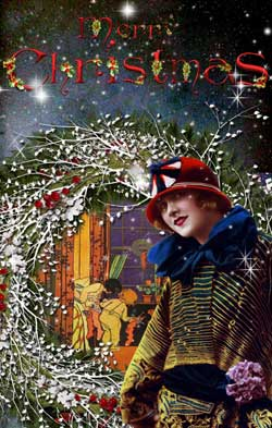Vintage Christmas Cards From Glamourdaze Glamour Daze