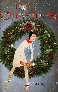 vintage christmas cards glamourdaze3