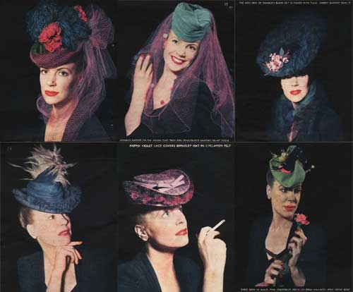 1940s-Fashion---British-Women-get-rid-of-the-Turbans!