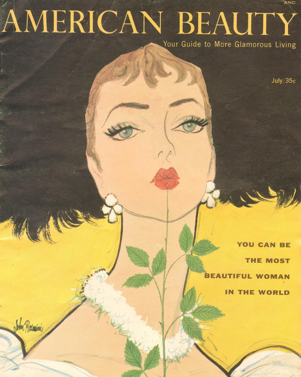 1950's makeup tips