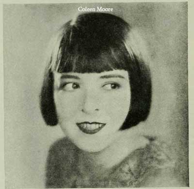 1920s Hairstyles Colleen Moore Changes Her Coiffure In