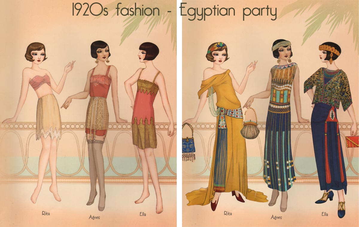 1920s Fashion Animation Glamourdaze