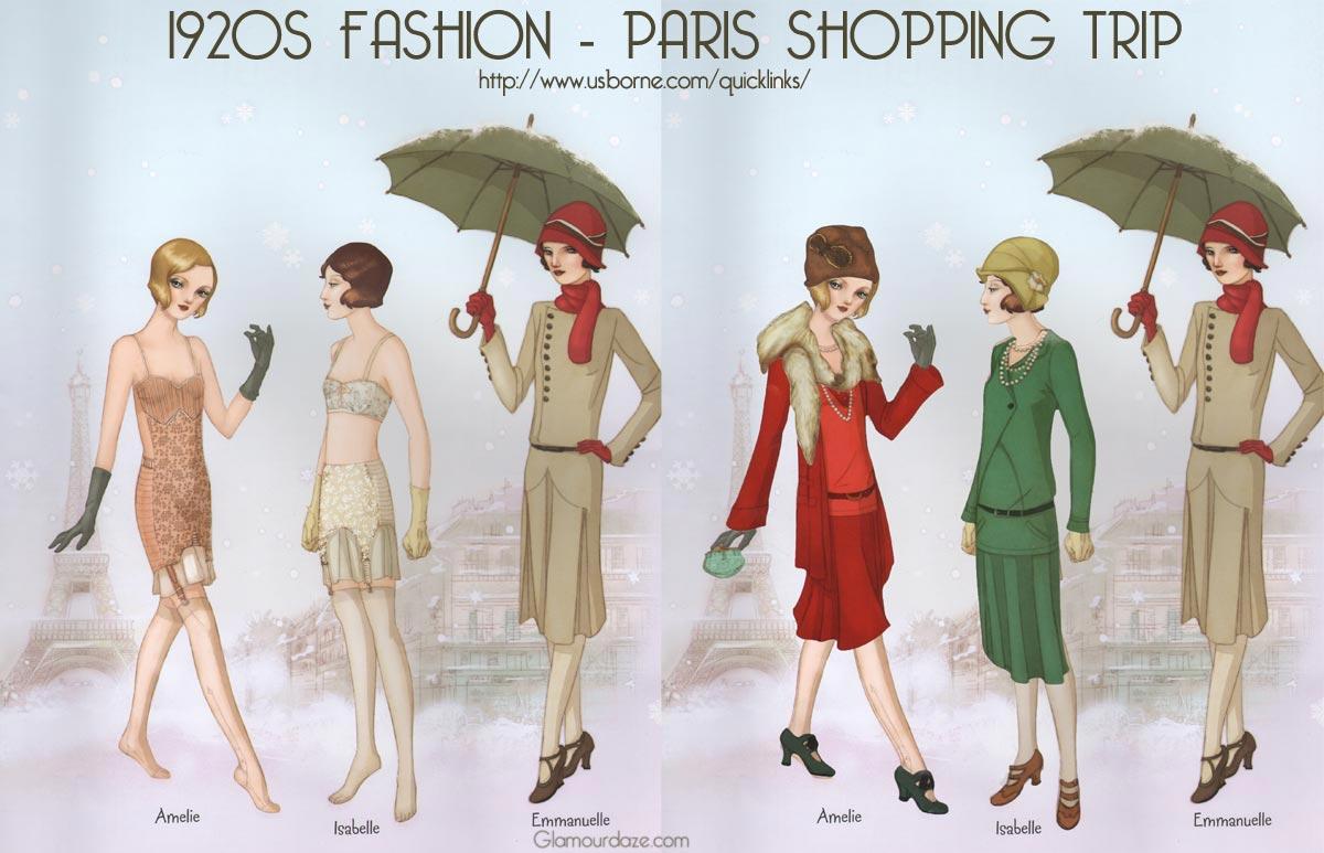 1920s fashion – Paris Shopping Trip.