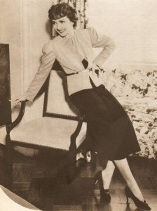 1930s-Fashion---Hollywood-Screen-Stars-show-their-glamour---Claudette-Colbert